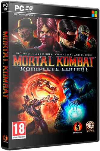 Mortal Kombat: Komplete Edition [2013 / Fighting / RePack]
