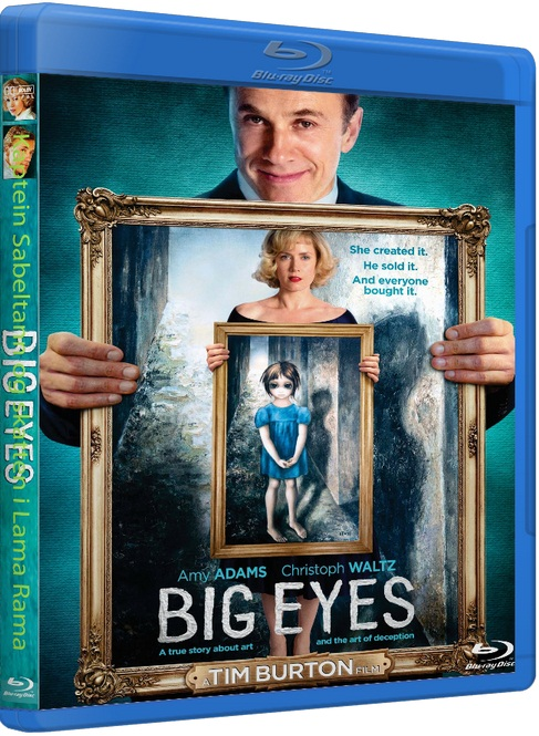 Большие глаза / Big Eyes [2014 / Драма, биография / BDRip 720p] DUB+SUB (iTunes)