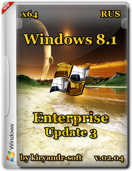 Windows 8.1 Enterprise with update 3 [v.02.04] [2015] by kiryandr