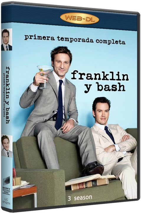 Компаньоны / Франклин и Бэш / Franklin & Bash (Сезон - 3, серии - 10 (из 10)) [2013 / комедия, криминал / WEB-DLRip] MVO (To4ka)