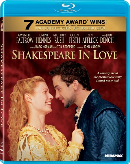 Влюбленный Шекспир / Shakespeare in Love [1998 / драма, мелодрама, комедия / BDRip 720p] MVO (Позитив) + SUB
