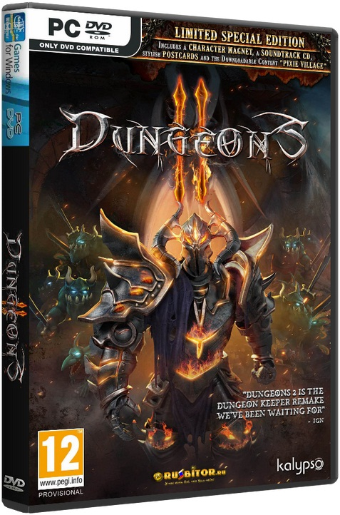 Dungeons 2 [Update 3] [2015 / Strategy, Real-time, 3D / Repack] от R.G. Механики