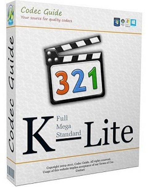 K-Lite Codec Pack 11.7.5 Mega/Full/Standard/Basic + Update [11.7.5] [2015] PC