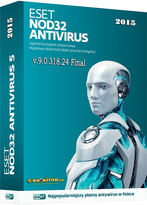 ESET NOD32 Antivirus 9.0.318.24 Final (2015) РС