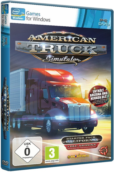 American Truck Simulator [v 1.2.1s + 2 DLC] [2016 / Racing, Simulator, 3D / RePack] PC by xatab