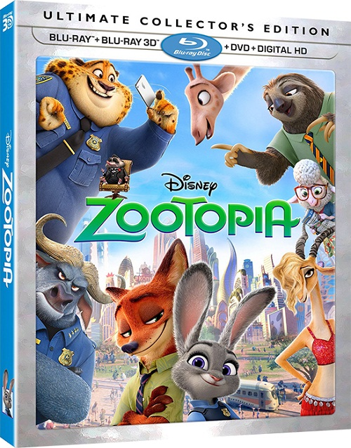 ������� ���������� / Zootopia (3D Video) [2016 / ����������, ������, �������, ��������, ����������� / BDRip 1080p / Half OverUnder] DUB+SUB (iTunes) by Ash61