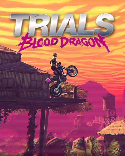 Trials of the Blood Dragon [2016 / Arcade / Racing (Motorcycles) / 3D / Лицензия]