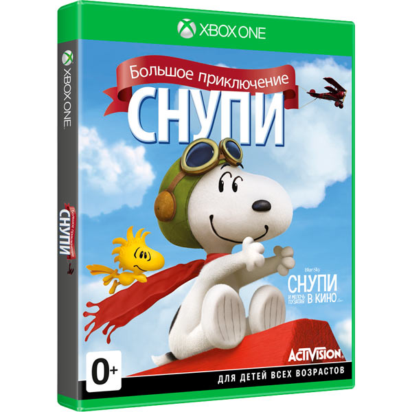 The Peanuts Movie: Snoopys Grand Adventure [2015 / Arcade (Platform) / 3D / Лицензия] XBOX 360