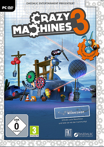 Crazy Machines 3 [2016 / Simulator / Logic (Puzzle) / 3D / Лицензия]