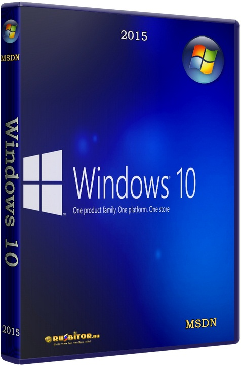 ������� Microsoft Windows 10 Professional [10.0 build 14393 Redstone Release (RS1) Version 1607 Anniversary Update RTM (10.0.14393.321) // 10.2016] [2016] [2DVD] by OVGorskiy�