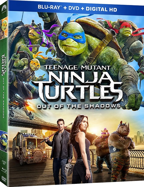 ������� ���������-������ 2 / Teenage Mutant Ninja Turtles: Out of the Shadows (3D Video) [2016 / ����������, ����������, ������, �������, ����������� / BDRip 1080p / Half OverUnder] DUB+SUB (��������) by Ash61