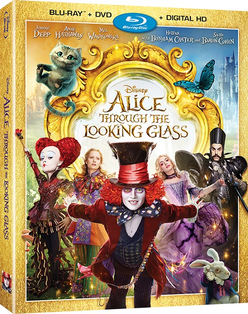 Алиса в Зазеркалье / Alice Through the Looking Glass (3D Video) [2016 / Фэнтези, Приключения / BDRip 1080p / Half OverUnder] DUB+SUB (Лицензия) by Ash61