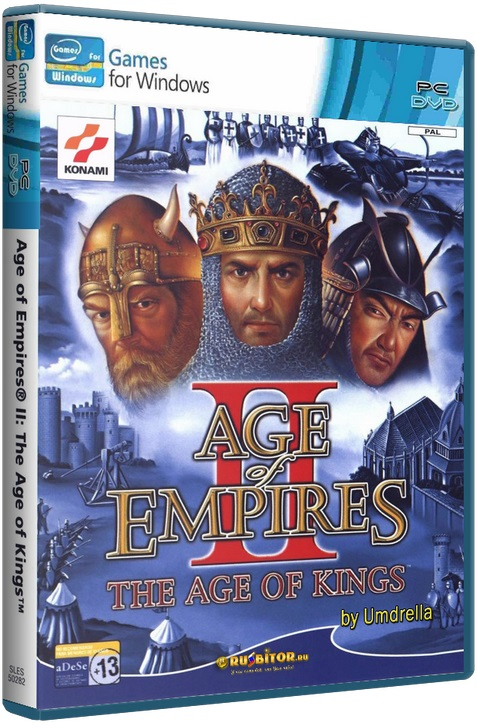 Age of Empires II - The Age of Kings + The Conquerors + hamachi(для игры по сети) [1999-2000 / strategy / Repack] by Umdrella