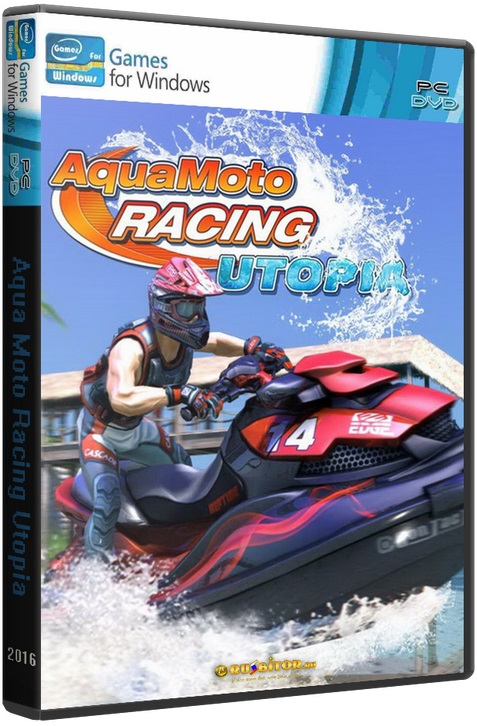 Aqua Moto Racing Utopia [2016 / Racing, First-person, Third-person, 3D, Motorboats / RePack] | PC от FitGirl
