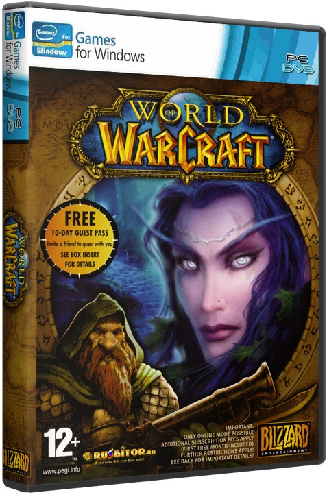 [Клиент] World of Warcraft [1.12.1][enGB] [2006 / MMORPG / лицензия]