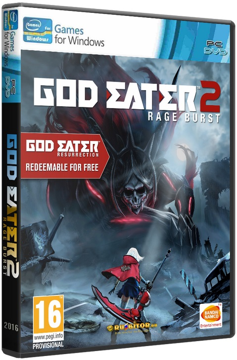 God Eater 2: Rage Burst [v.1.00] (2016) PC | RePack от =nemos=