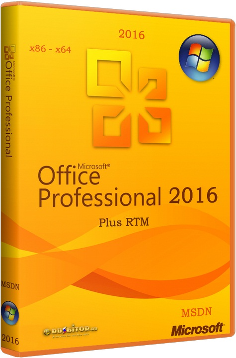 Microsoft Office 2016 Professional Plus RTM 16.0.7571.2075