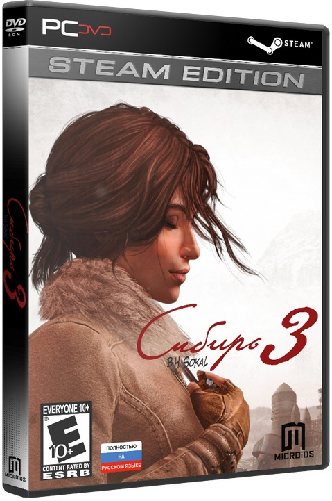 —качать Syberia 3|Сибирь 3 - Digital Deluxe Edition [2017 / Adventure / 3D / 3rd Person / Лицензия [Steam-Rip]]