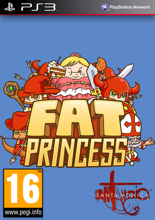 Fat Princess [2009 / Action / RTS / Repack] [PS3]
