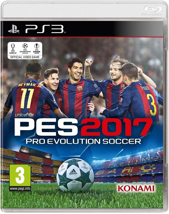 Pro Evolution Soccer 2017 [2016 / Sport / FULL] [PS3]