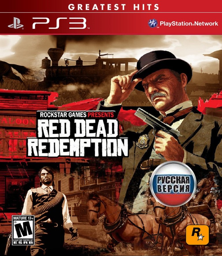 Red Dead Redemption [+ 10 DLC] [2010 / Action / FULL] [PS3]