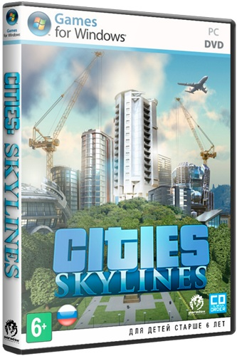 Скачать Cities: Skylines - Deluxe Edition [2015 / Strategy (Manage, Busin., Real-time), 3D /  Repack]