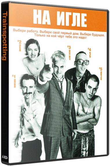На игле / Trainspotting [1995 / драма / BDRip 720p]