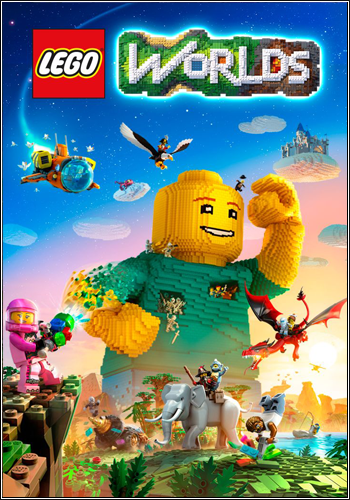 Скачать LEGO Worlds [v 1.2 + 3 DLC] [2017 / Adventure / RePack] PC | от R23-K