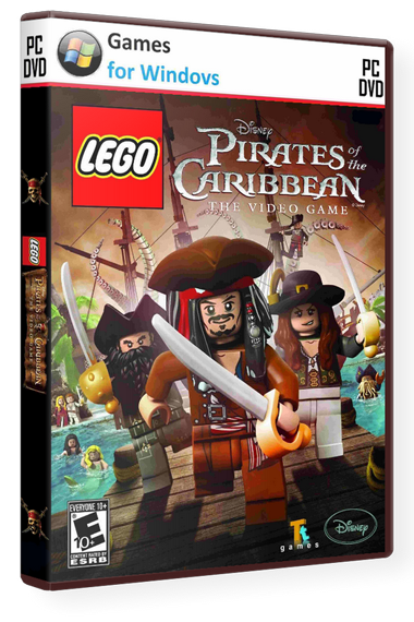 LEGO Пираты Карибского моря / LEGO Pirates Of The Caribbean [2011 / Arcade, 3D, 3rd Person / Repack] РС | от R.G. UPG