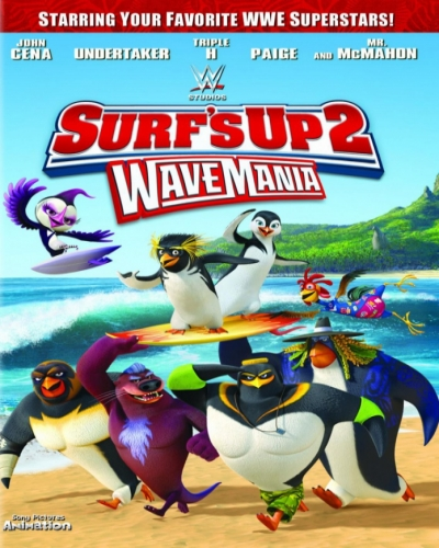 Лови волну 2 / Surf's Up 2: WaveMania [2017 / мультфильм, комедия, семейный, спорт / WEB-DL 1080p]