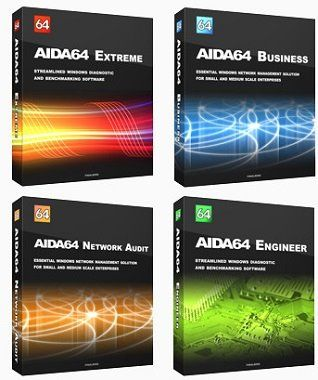 Скачать AIDA64 Extreme / Engineer / Business / Network Audit [6.20.5300 Final] [2019]