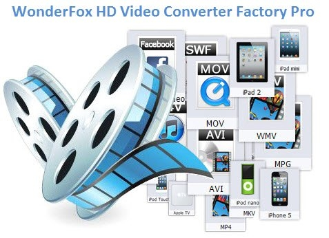 Скачать WonderFox HD Video Converter Factory Pro [18.9 Portableby] [2020]