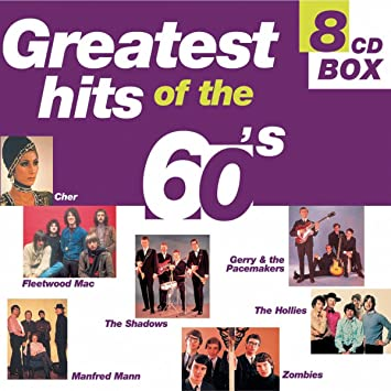 Скачать VA - Greatest Hits of The 60's (8CD) (2000) MP3