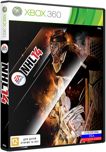 NHL 14 [2013 / Sports, hockey / GOD / XBOX360]