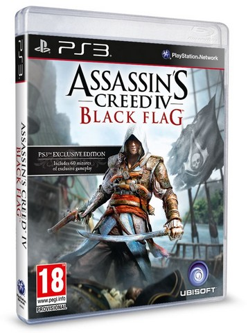 Assassin's Creed IV: Black Flag [2013 / Action, Adventure, 3st Person / L / PS3]