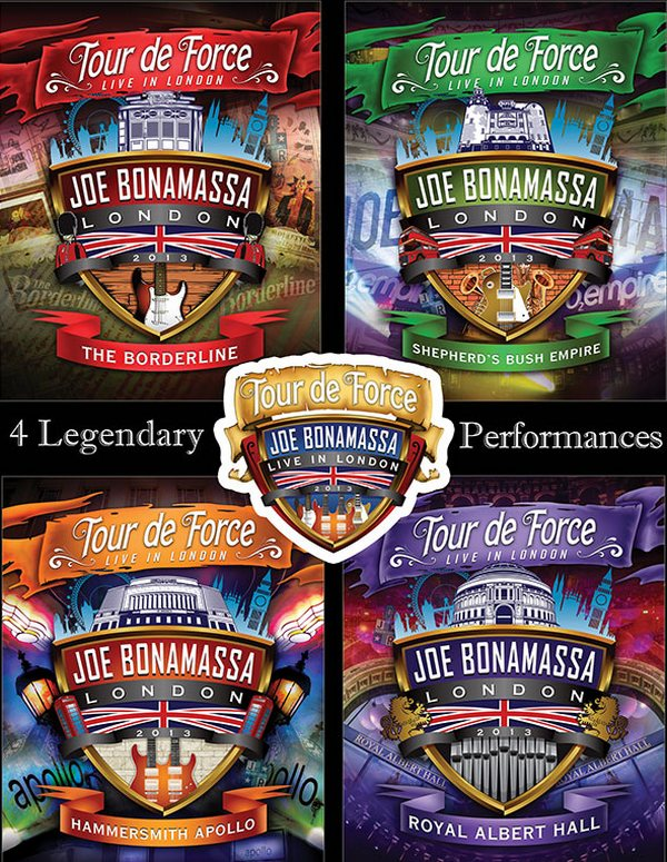 Joe Bonamassa / Tour de Force (Live in London) [2013 / Southern-rock, blues, classic-rock / HDRip]