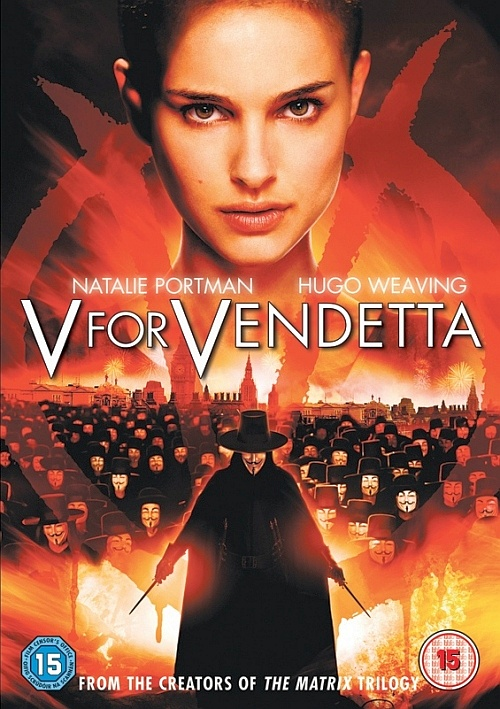«V» значит Вендетта / V for Vendetta [2005 / Фантастика, боевик, триллер, драма / BDRip 720p]