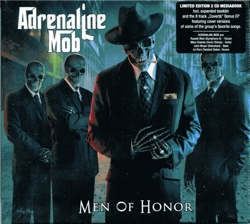 Adrenaline Mob / Men Of Honor (Limited Edition 2CD MediaBook) [2014] MP3