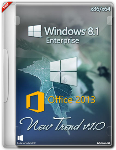 Windows 8.1x86x64 Enterprise  Office2013 New Trend [ #1.0] [2014] Ru