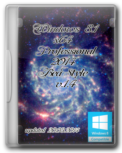 Windows 8.1x64 Pro2014 BeaStyle [v.1.4] [2014] Ru